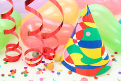 Party decoration. Isolated on white background Stock Photography