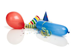 Party decoration isolated Royalty Free Stock Images