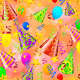 Party decorations background Royalty Free Stock Images