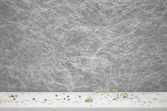 Party decorations and confetti Royalty Free Stock Image