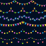 Party decorations vector illustration