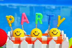 Party decorations Stock Image