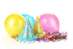 Party-Dekoration des neuen Jahres Lizenzfreies Stockfoto