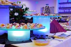 Party Deli Menu Stock Images