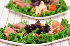 Party deli platter Royalty Free Stock Images