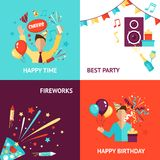 Party Design Concept Royalty Free Stock Images