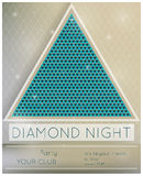 Party diamond night Royalty Free Stock Images