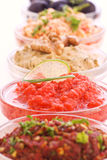 Party Dips Stock Photography
