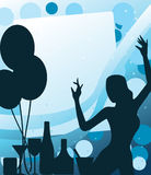 Party disco background royalty free illustration