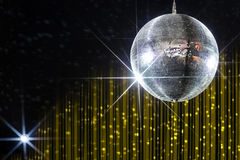 Party disco ball stock photography