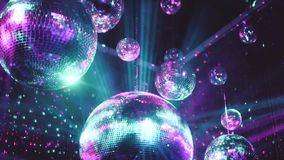 Party disco mirror balls