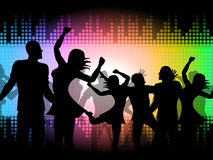 Party Disco Shows Celebrations Fun And Discotheque Royalty Free Stock Image