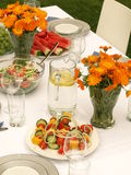 Party dishes Royalty Free Stock Photo