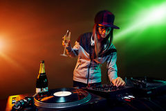 Party dj Stock Photo