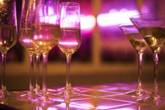 Party drinks on the table royalty free stock photography
