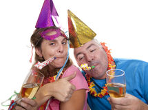 Party drunk Royalty Free Stock Photography