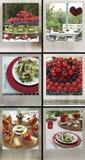 Party el alimento foto de archivo