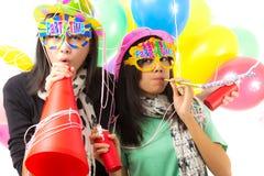 Party el tiempo Imagenes de archivo