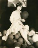 Party el tiempo Foto de archivo libre de regalías