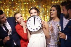 Party el tiempo fotografía de archivo