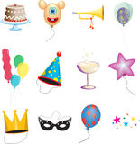 Party elements Royalty Free Stock Photography
