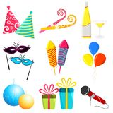 Party Elements Stock Photos