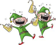 Party Elves Royalty Free Stock Images