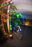 Party entrance decorations Stock Image