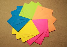 Party envelopes Stock Images