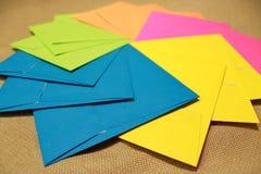 Party envelopes Stock Photo