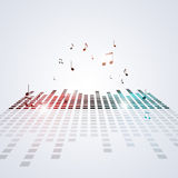 Party Equalizer Background Royalty Free Stock Photography