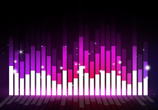 Party Event Music Equalizer Stock Photo