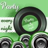 Party every night stock photos