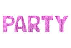 Party Farbrosa Lizenzfreie Stockbilder