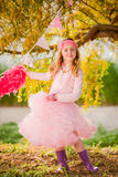 Party fashion child royalty free stock photo