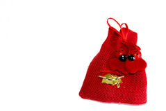 Party favor with ladybug Royalty Free Stock Image