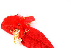 Party favor with ladybug Royalty Free Stock Photography