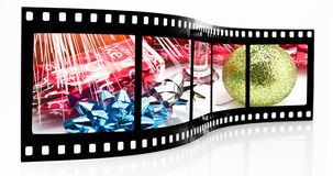 Party film strip Royalty Free Stock Photography