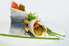 Party fish Snack close up Stock Images