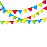 Party Flag Background Vector Illustration. EPS 10 Stock Images
