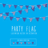 Party Flag Stock Photo