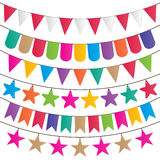 Party flags Stock Images