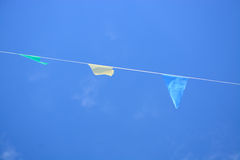 Party flags Stock Image