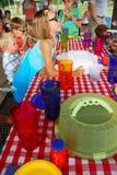 Party flickan royaltyfri foto