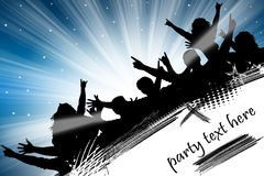 Party-Flugblatt Stockfotos