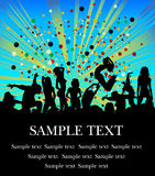 Party flyer Stock Photos