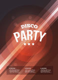 Party Flyer Royalty Free Stock Photos