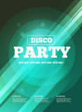 Party Flyer Stock Photography