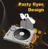 Party flyer design Royalty Free Stock Photos