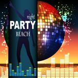 Party flyer Stock Images